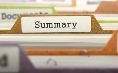Document summarization software