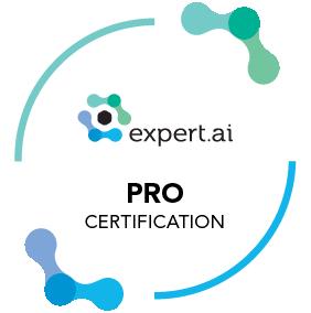 expert.ai certification pro