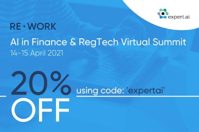 AI in Finance & RegTech Virtual Summit