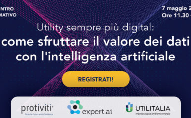 Utility sempre più digital: come sfruttare il valore dei dati con l'intelligenza artificiale