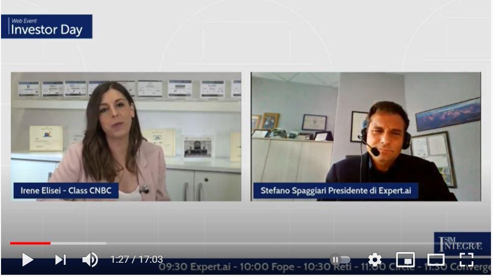 intervista Stefano Spaggiari   Investor Day Integrae Sim 2021