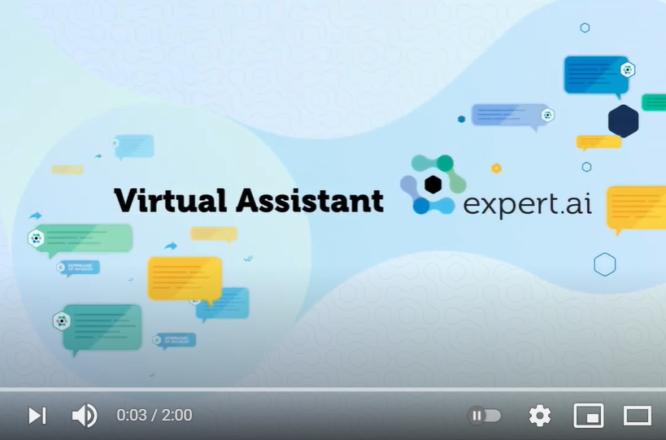 Expert.ai Virtual Assistant